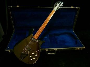 "Rickenbacker 610/12 Jetglo ""Black Hardware"" 1987"