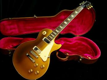 Les Paul Deluxe Gold Top
