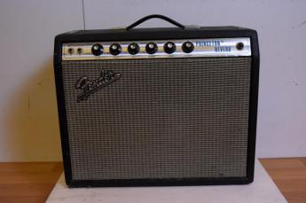FENDER PRINCETON REVERB SILVER FACE 銀パネ ギターアンプ72年製